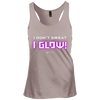 "Image of ""I Don't Sweat I Glow"" Ladies Tees & Tanks"