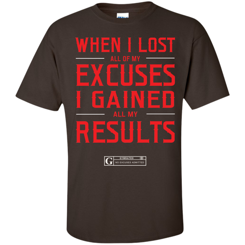 """When I Lost All Of My Excuses"" Men's Tees & Tanks"
