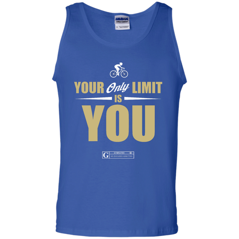 """Your Only Limit Is You Cycling"" Men's Tees & Tanks"