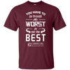 "Image of ""Worst to Best"" Men's Tees & Tanks by GYMRATED™"
