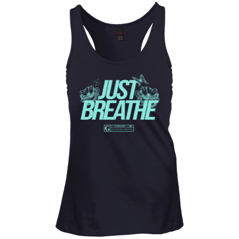 """Just Breathe"" Ladies Tees & Tanks"