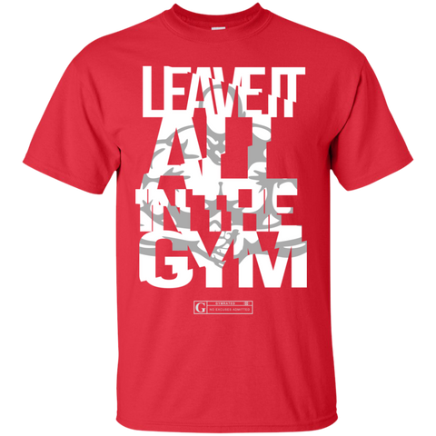 """Leave It All In The Gym"" Men's Tees & Tanks"