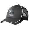Image of Official GYMRATED™ Brand Emboridered Colorblock Mesh Back Cap