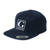 Image of Flat Bill High-Profile Snapback Hat