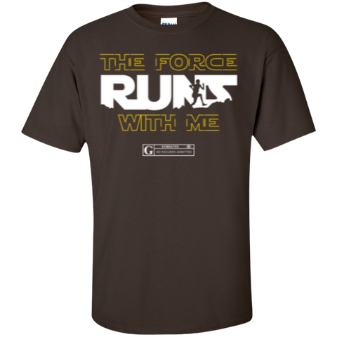 """The Force Runs With Me"" Men's Tees & Tanks"