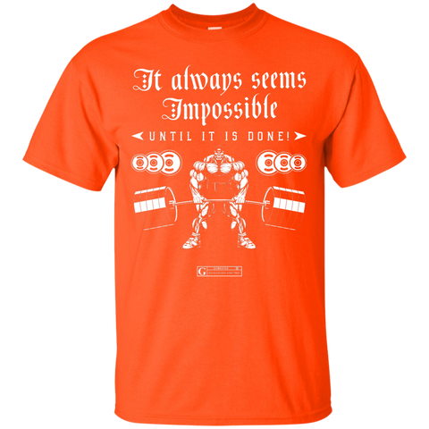 """It Always Seems Impossible"" Men's Tees & Tanks"