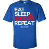 "Image of ""Eat Sleep Bike Repeat"" Men's Tees & Tanks"