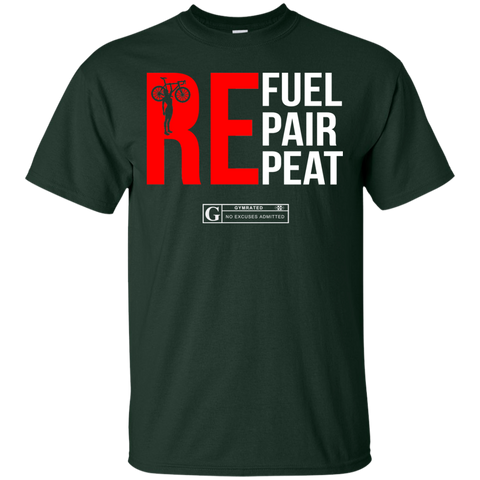 """Refuel Repair Repeat Cycling"" Men's Tees & Tanks"