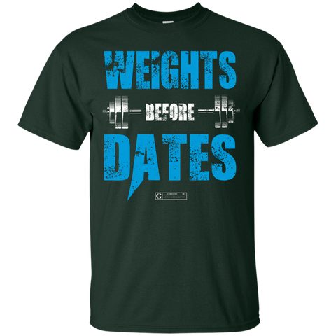 """Weights Before Dates"" Men's Tees & Tanks"