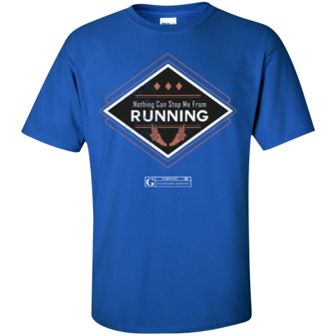 """Nothing Can Stop Me From Running"" Men's Tees & Tanks"