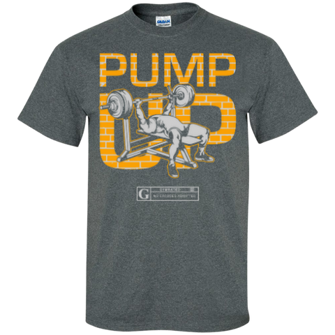 """Pump Up"" Men's Tees & Tanks"