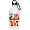 "Image of ""Eat Big Lift Big"" Stainless Steel Water Bottle"