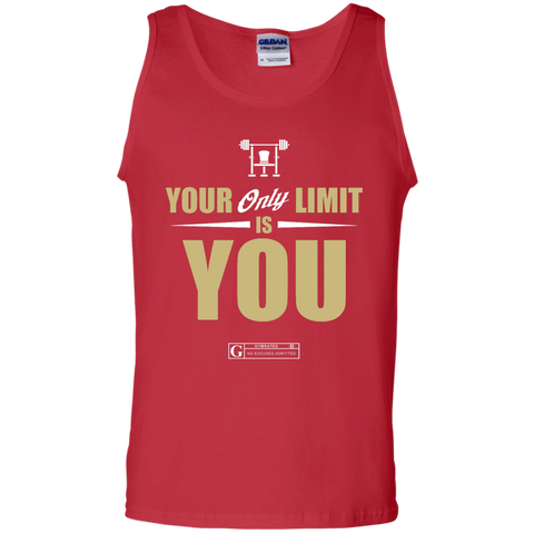 """Your Only Limit Is You Gym"" Men's Tees & Tanks"