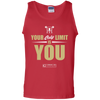 "Image of ""Your Only Limit Is You Gym"" Men's Tees & Tanks"