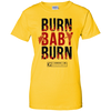 "Image of ""Burn Baby Burn"" Women's Tees & Tanks"