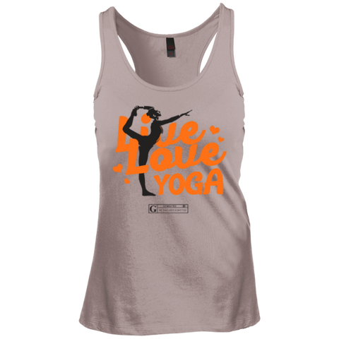 """Live Love Yoga"" Ladies Tees & Tanks"