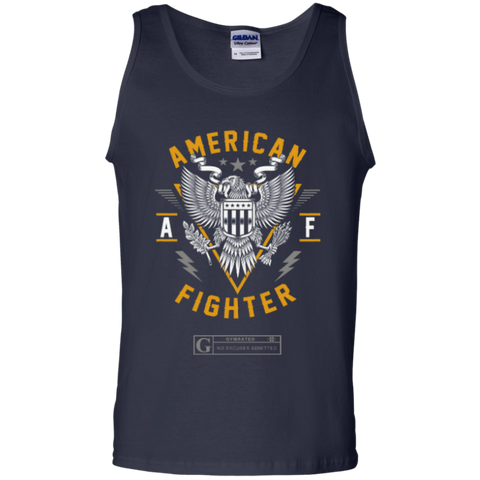 """American Fighter"" Men's Tees & Tanks"