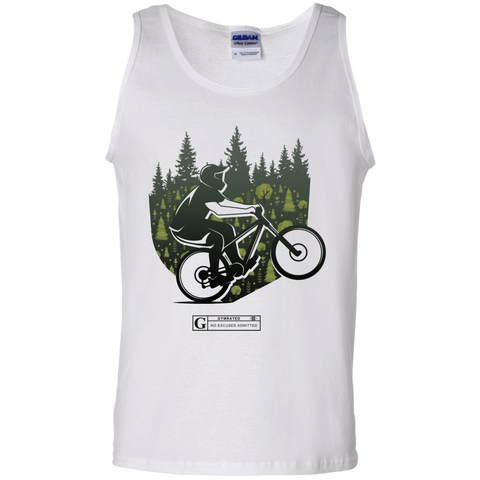 """Cycling Trail"" Men's Tees & Tanks"