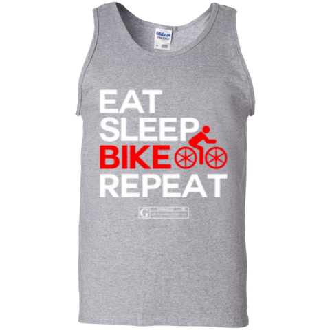 """Eat Sleep Bike Repeat"" Men's Tees & Tanks"