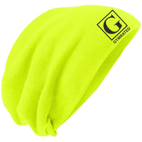 Official GYMRATED™ Brand Slouch Beanie