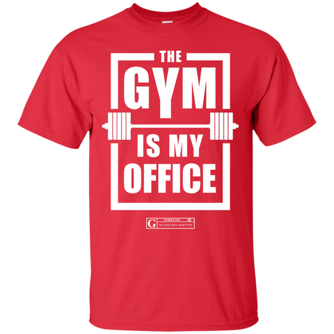 """The Gym Is My Office"" Men's tees & Tanks"