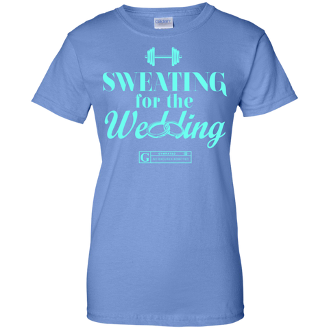 """Sweating For The Wedding"" Ladies Tees & Tanks"