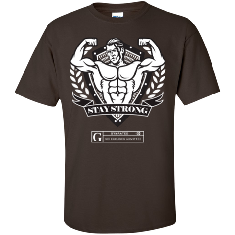 """Stay Strong"" Men's Tees & Tanks"