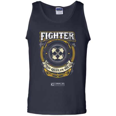"""Fighter - No Quit In Me"" Men's Tees & Tanks"