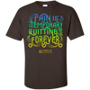 "Image of ""Pain Is Temporary"" Men's Tees & Tanks"