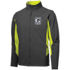 Image of Colorblock Soft Shell Jacket