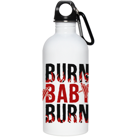"""Burn Baby Burn"" Stainless Steel Water Bottle"