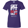 "Image of ""Get Fit Don't Quit"" Women's Tees & Tanks"
