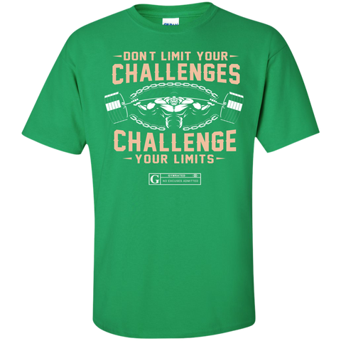 """Don't Limit Your Challenges"" Men's Tees & Tanks"