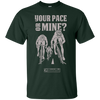 "Image of ""Your Pace Or Mine Cycling"" Men's Tees & Tanks"
