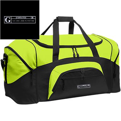 Colorblock Sport Duffel by GYMRATED™