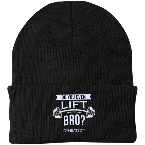 """Do You Even Lift Bro?"" Embroidered Beanies"