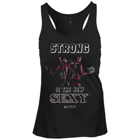 """Strong Is The New Sexy"" Ladies Tees & Tanks"