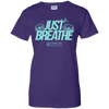 "Image of ""Just Breathe"" Ladies Tees & Tanks"