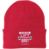 "Image of ""Do You Even Lift Bro?"" Embroidered Beanies"