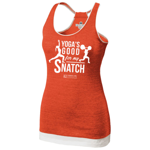 """Yoga's Good For My Snatch"" Women's Tees & Tanks"