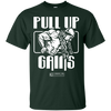 "Image of ""Pull Up Gains"" Men's Tees & Tanks"