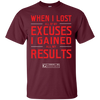 "Image of ""When I Lost All Of My Excuses"" Men's Tees & Tanks"