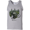 "Image of ""Cycling Trail"" Men's Tees & Tanks"