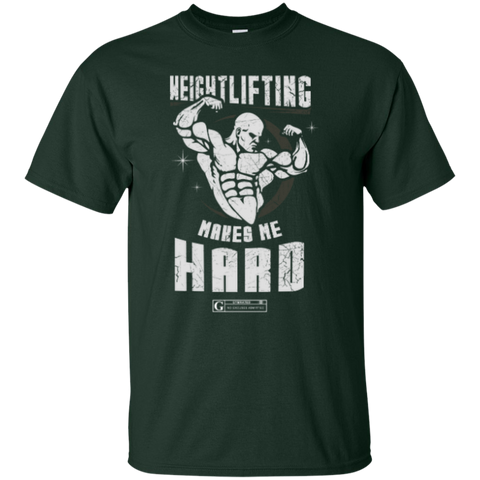 """Weight Lifting Makes Me Hard"" Men's Tees & Tanks"