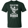 "Image of ""Weight Lifting Makes Me Hard"" Men's Tees & Tanks"