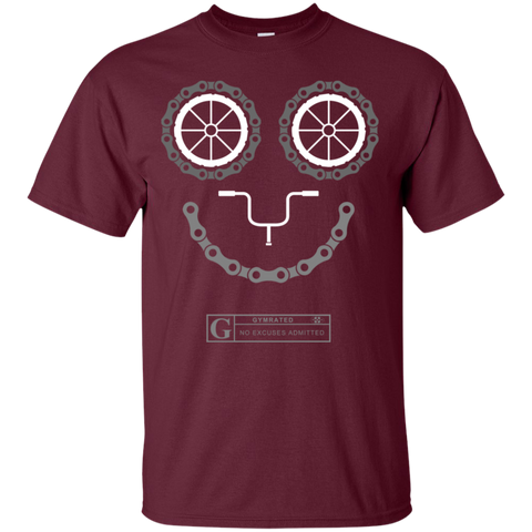 """Cycling Smiling"" Men's Tees & Tanks"