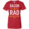 "Image of ""Bacon Is Rad Gluten Is Bad"" Ladies Tees & Tanks"