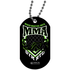 """GYMRATED MMA"" Dog Tags"