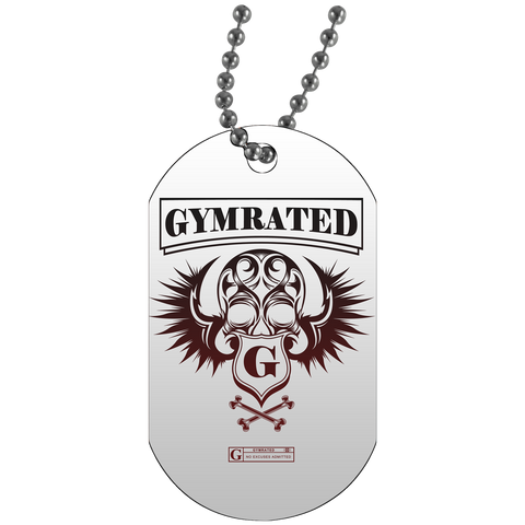 """GYMRATED Skull"" Dog Tags"