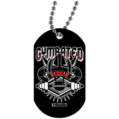 """Gymrated Viking"" Dog Tags"